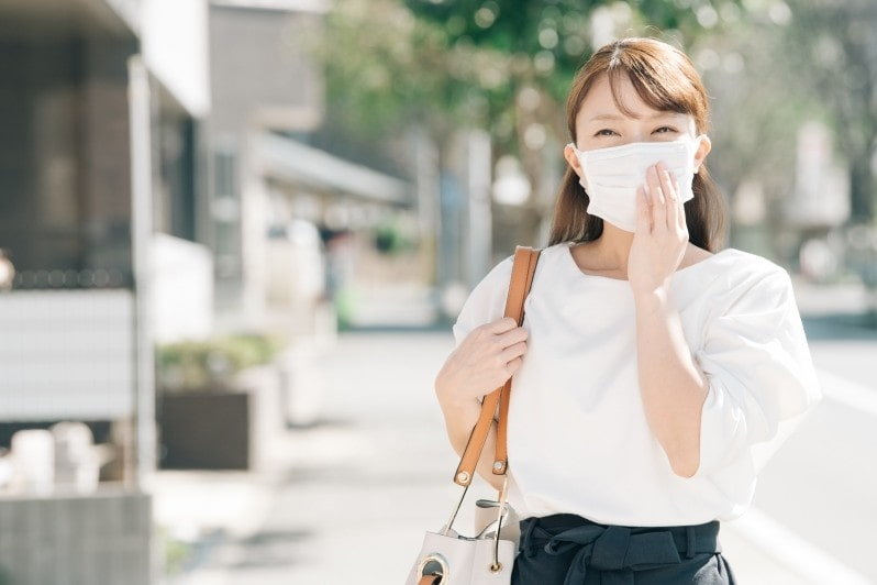 マスクで肌荒れしている方へ~除菌&美白&美肌効果の簡単お手入れ方法~